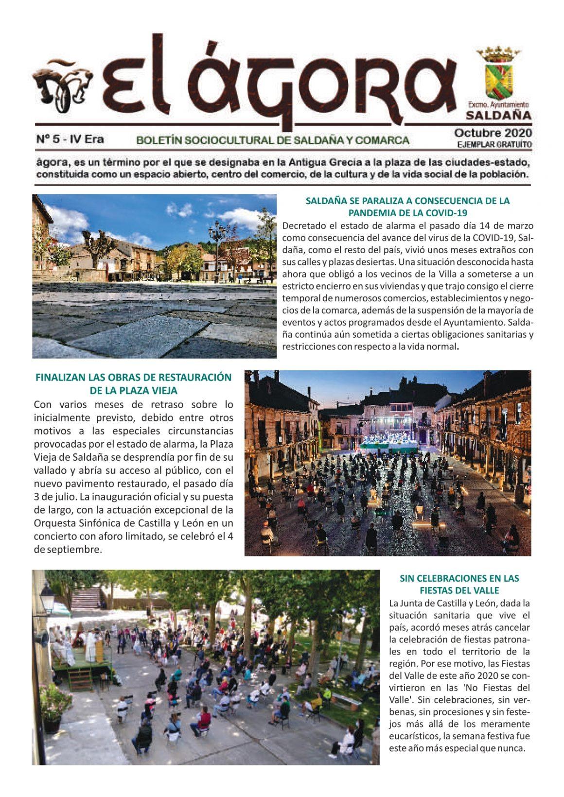 Ya disponible el número 5 de la revista gratuita 'El Ágora'