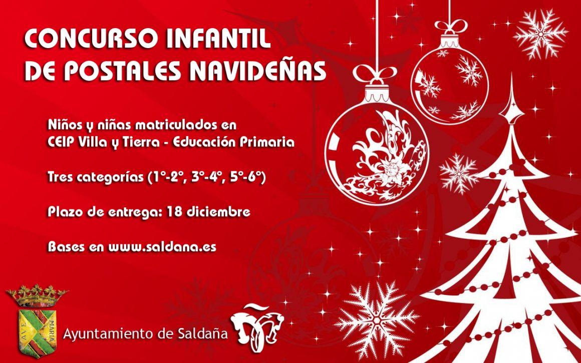 Concurso infantil de postales navideñas