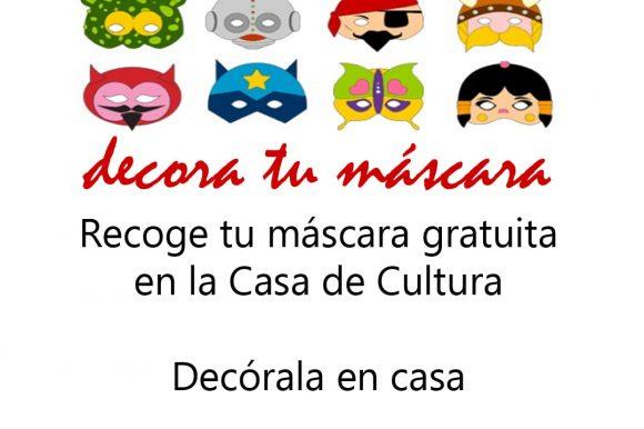 Carnaval virtual, decora tu máscara
