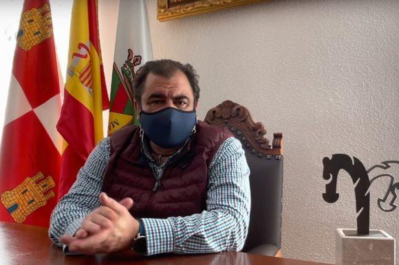 Feria de las Candelas 2021, saludo de Adolfo Palacios